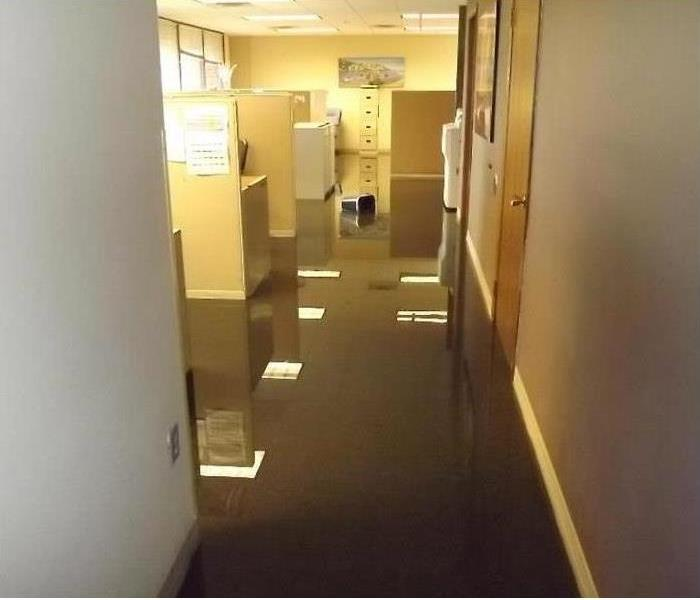 Flooding in Commercial Property Before